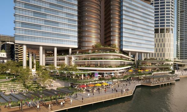 030221 - Project of the Week - Dexus Waterfront Place 3
