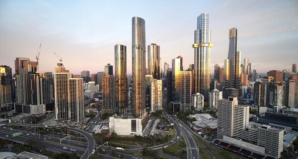 260521 - Project of the Week - Melbourne Square City Skyline